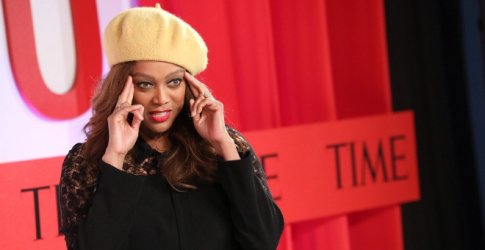 Tyra Banks is driving the message home that women of colour need more opportunities