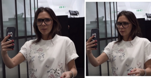 The second episode of Victoria Beckham's new YouTube channel is out