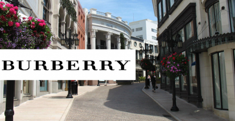 Burberry is being awarded a 'Walk of Style' accolade as it opens first store on Rodeo Drive