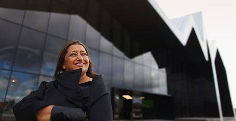 Zaha Hadid awarded Britain's Royal Gold Medal