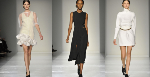 New York Fashion Week: Victoria Beckham Autumn/Winter 14