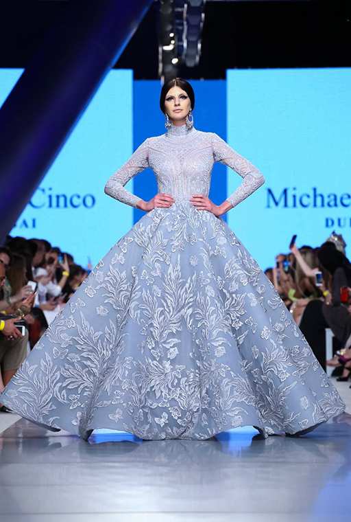 Arab Fashion Week: Michael Cinco\'s Ready-Couture collection show ...