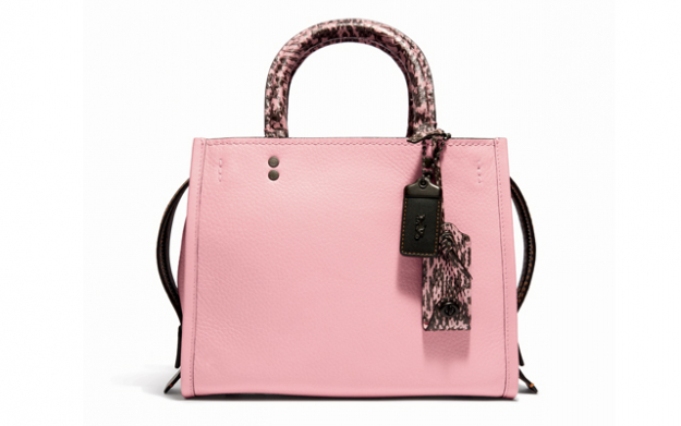 Colourblock Snake Rogue Bag