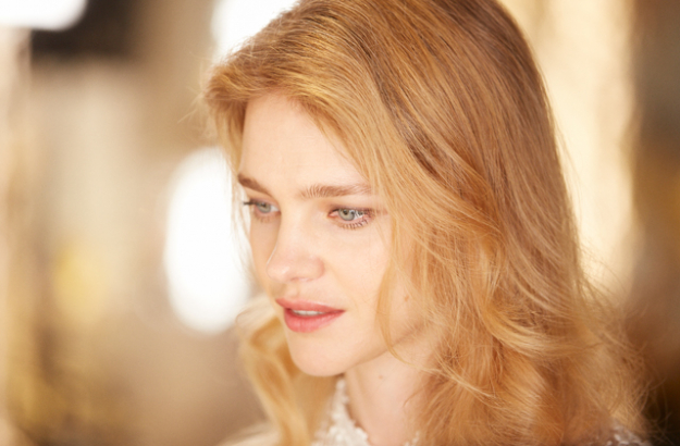 Behind the scenes with Natalia Vodianova for Guerlain