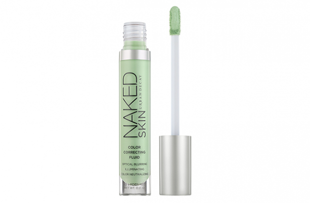 Urban Decary Naked Skin Colour Correcting Fluid liquid in green
