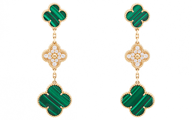 Magic Alhambra 3-Motif earrings