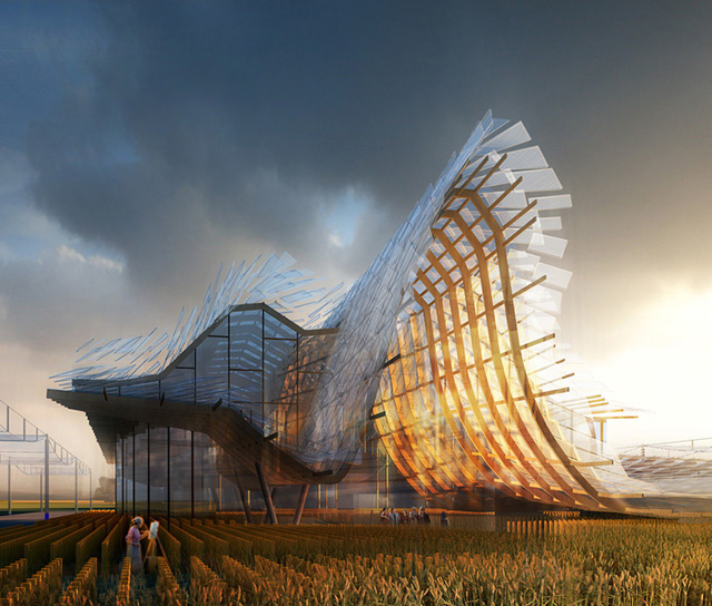 China 39 s pavilion design unveiled for milan 39 s expo 2015 buro 24 7 for Modern buro land