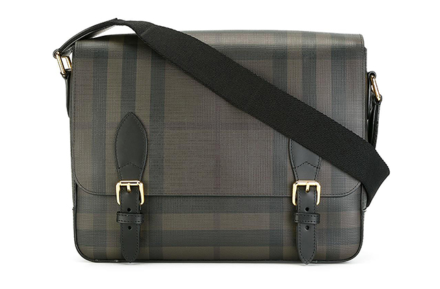 Burberry checked shoulder bag on Farfetch, Dhs2,655