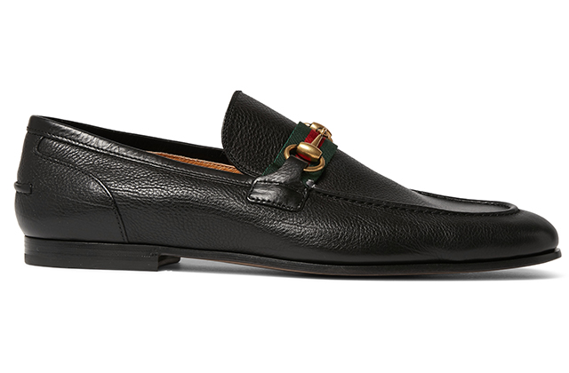 Gucci Leather Loafers on Mrporter.com, Dhs2,093