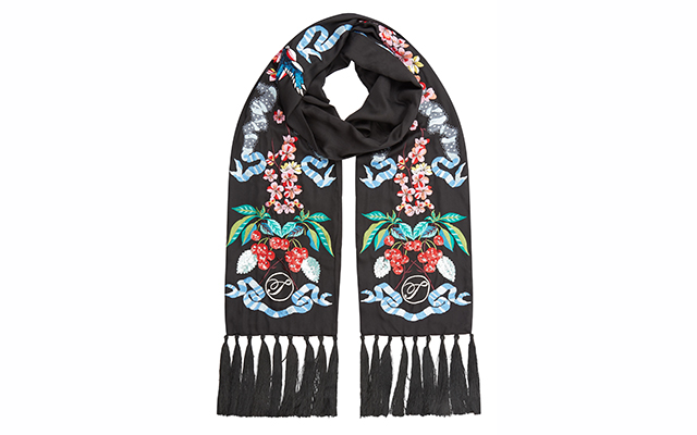 Temperley London Sail Embroidered Dinner Scarf at Symphony, Dhs1,530