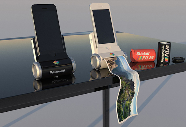 polaroid printer for iphone the new portable iphone and polaroid printer buro 24 7 15879