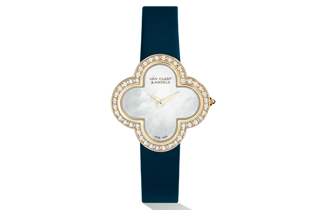 Van Cleef & Arpels Alhambra Sertie watch, price available upon request