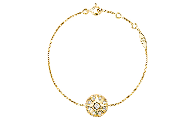 ose Des Vents necklace – yellow gold and diamonds