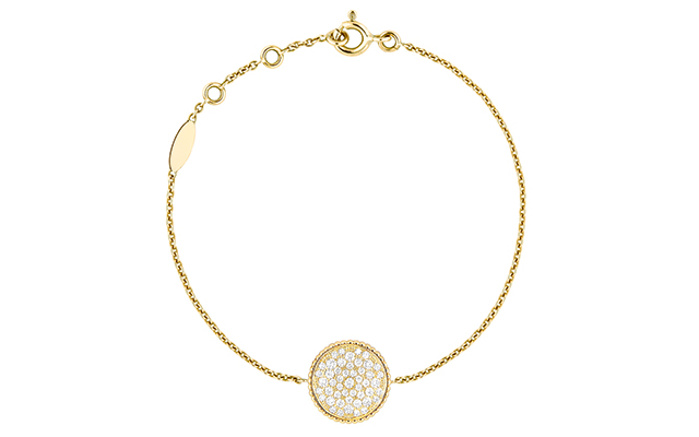 Rose Des Vents necklace – yellow gold and diamonds