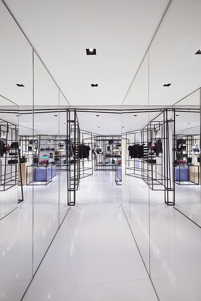 Step inside Chanel's new ephemeral boutique in Rome