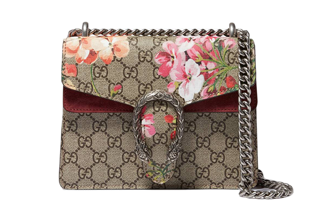 Gucci Beige Mini Dionysis GG Blooms Shoulder Bag, Dhs8,300