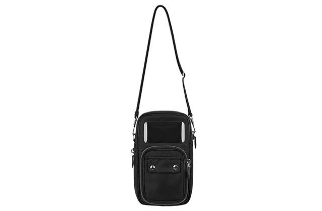 Givenchy's cross-body men's bag, price available upon request