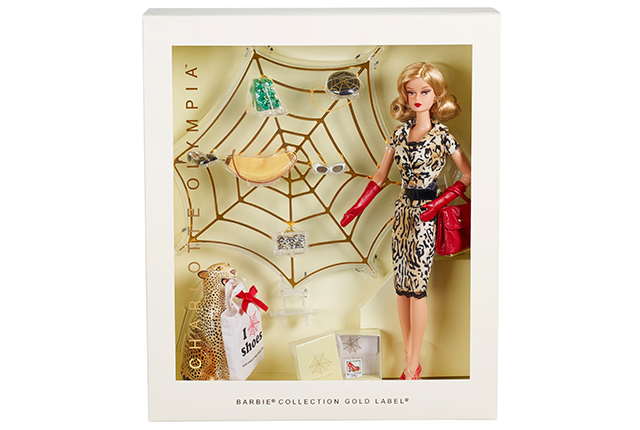 Charlotte Olympia Barbie Doll, Dhs450