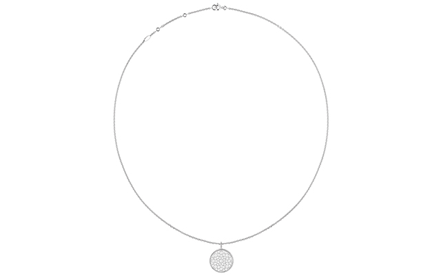 Rose Des Vents necklace – white gold and diamonds