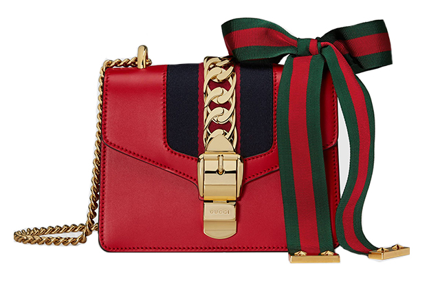 Gucci Sylvie leather mini chain bag, Dhs7,250