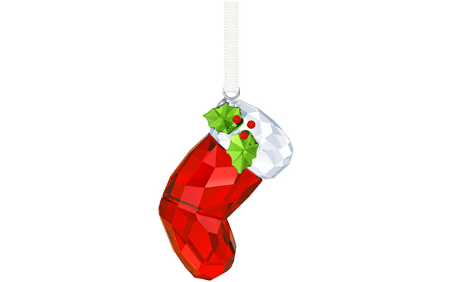 Swarovski Mum's Santa's Stocking Ornament