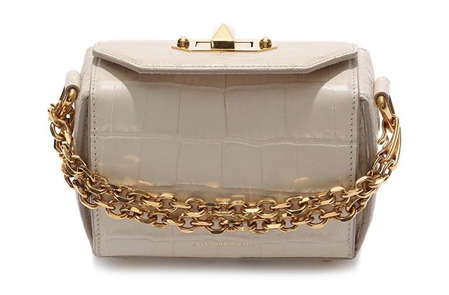 Alexander McQueen Box Bag, price available upon request