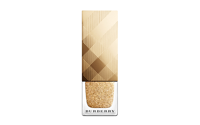 Burberry nail polish in Gold Shimmer