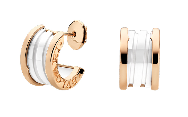 Bulgari B. Zero 1 gold earrings, Dhs9,300
