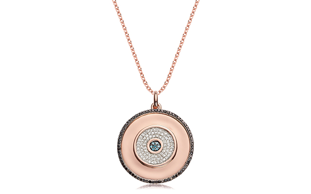 Evil Eye pendant with chain, Dhs4,100