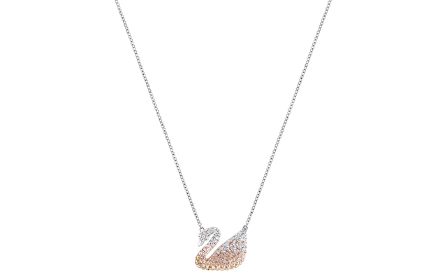 Swarovski Mum's Swan Necklace