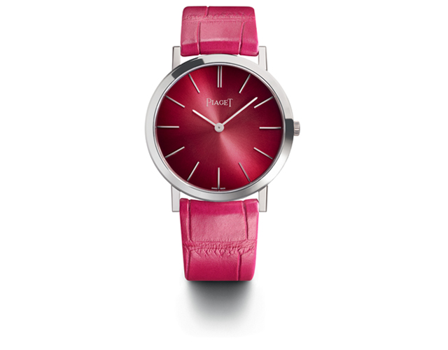 Altiplano 34mm pink dial