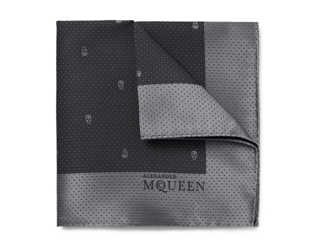 Alexander McQueen pocket square scarf, Dhs300