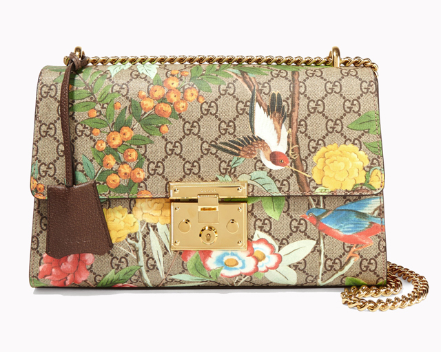 Gucci Padlock Printed Bag, Dhs6,960