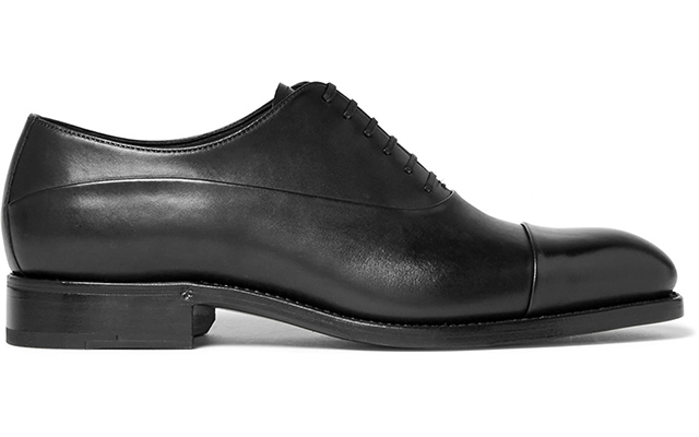 Belgracia leather oxford shoes, Dhs3,015