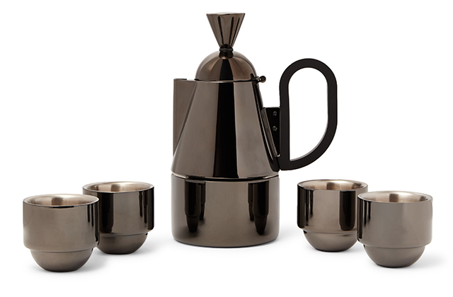 Tom Dixon Brew Coated Stainless Steel Stovetop Set, available on Mrporter.com for Dhs814