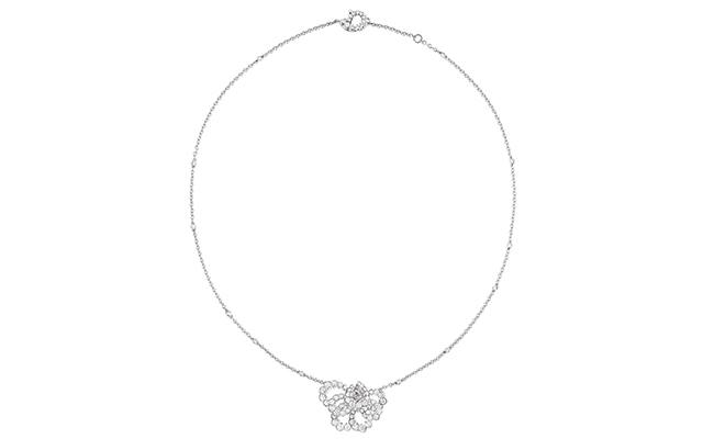 Archi Dior Milieu du Siecle necklace in white gold and diamonds