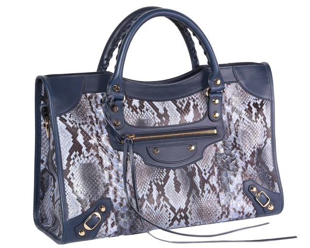 Balenciaga Exclusive City Python Bag, Dhs12,700