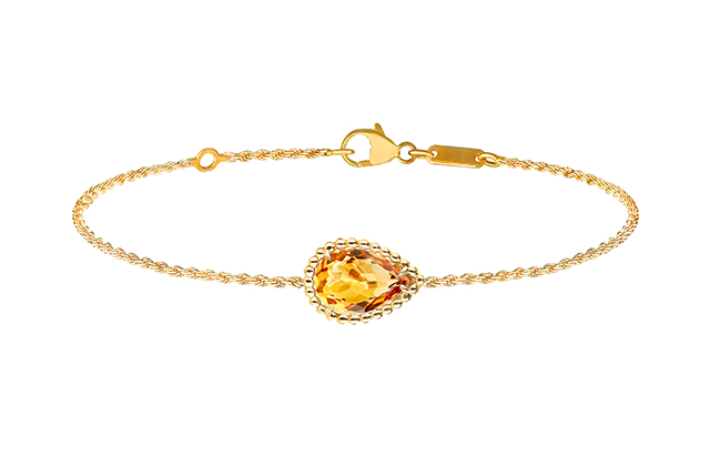 Boucheron Serpent Bohème bracelet with citrin, in yellow gold