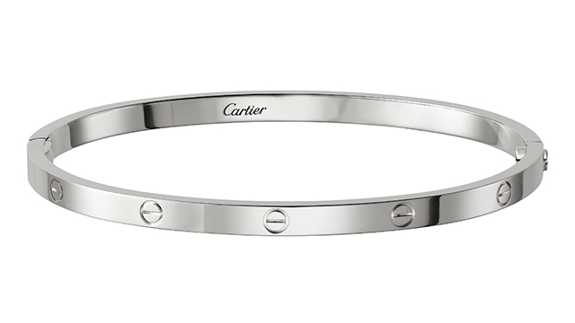 Love Bracelet in white gold