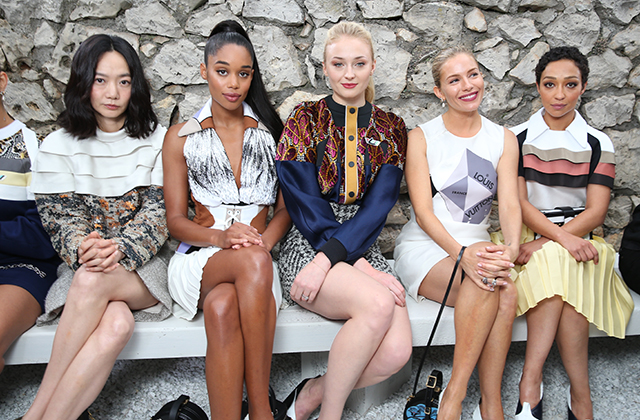 Doona Bae, Laura Harrier, Sophie Turner, Sienna Miller and Ruth Negga
