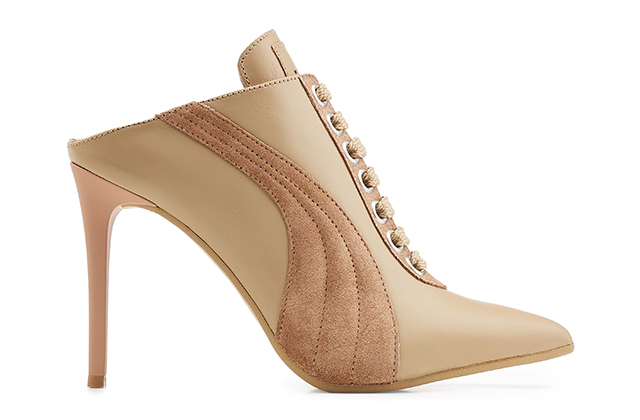 Fenty Puma by Rihanna Mule Heel in Sesame Natural, Dhs1,600