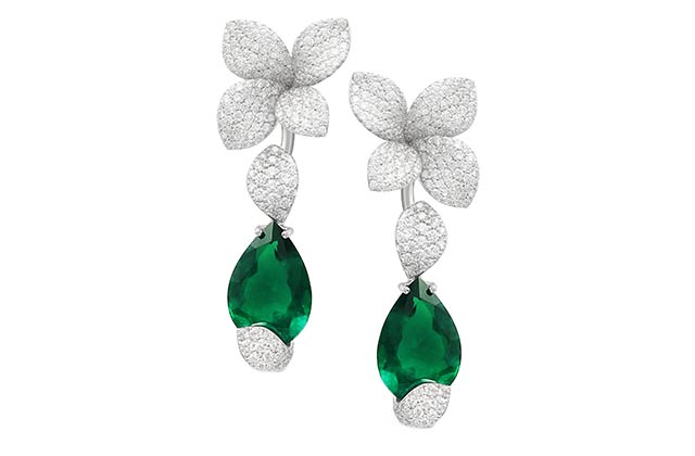 Pasquale Bruni Giardini Segreti Haute Couture earrings