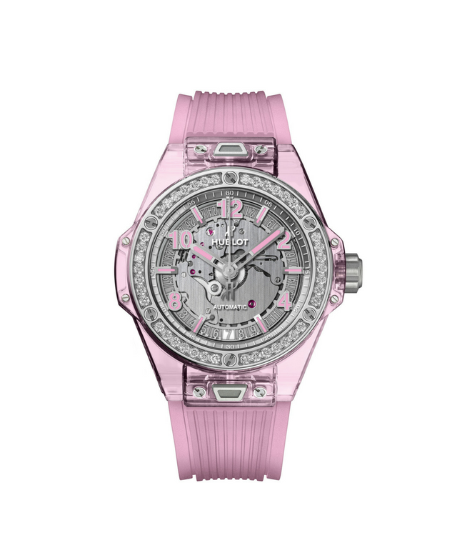 Hublot's Big Bang One Click Sapphire in Pink
