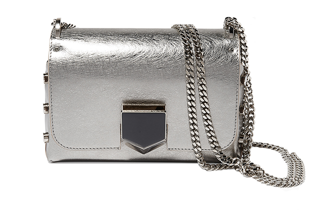 Jimmy Choo Lockette handbag available on Ounass.com, Dhs5,500