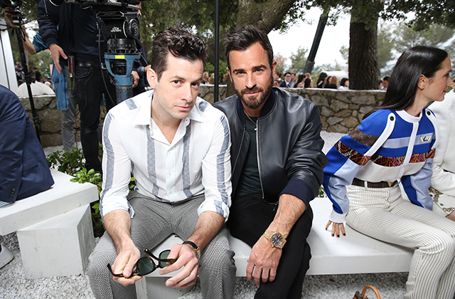 Mark Ronson and Justin Theroux