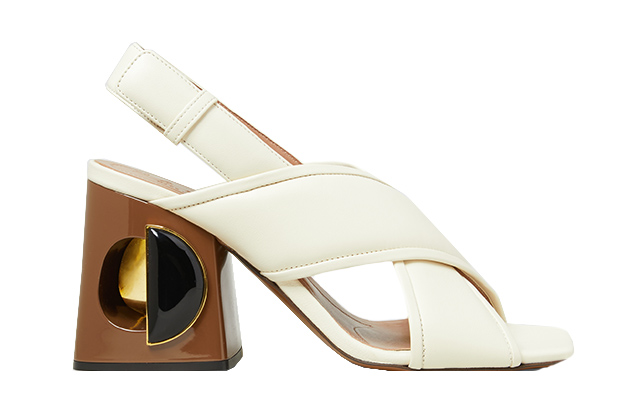 Marni heels available at The Modist, Dhs3,640