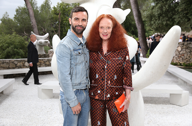 Nicolas Ghesquiere and Grace Coddington