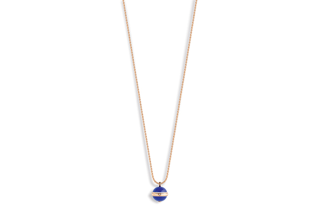 Piaget Possesion deep blue lapis necklace