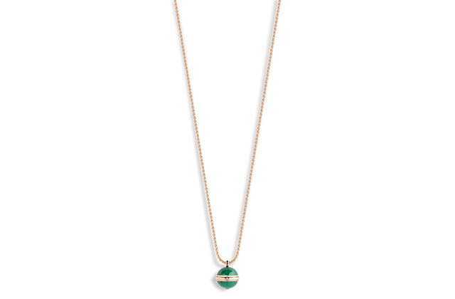 Piaget Possesion green malachite necklace