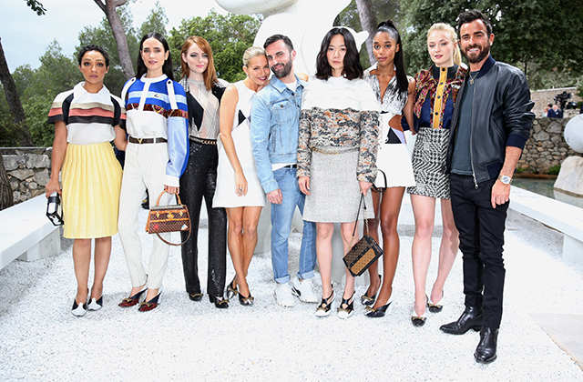 Ruth Negga, Jennifer Connelly, Emma Stone, Sienna Miller, Nicolas Ghesquiere, Doona Bae, Laura Harrier, Sophie Turner and Justin Theroux